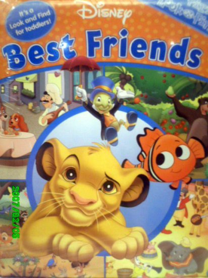 Disney's First Look and Find Book - Best Friends