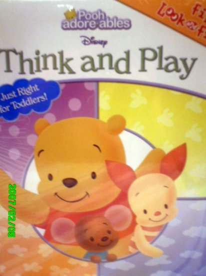 Disney's First Look and Find Book - Winnie the Pooh, Think and Play