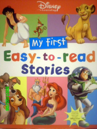 Disney Learning...My first Easy to Read Stories