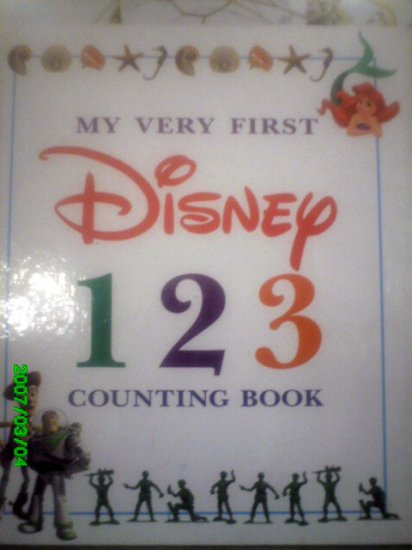 My Very First Disney Counting Book