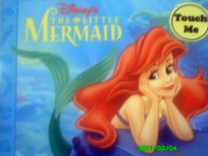 Touch me - Disney The Little Mermaid Book (Textured Pages)