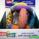 babybaby - Shake and play soft sound rattle