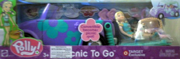 Mattel Polly Pocket - Picnic To Go