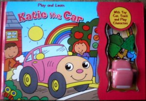 Play and Learn Book with Katie The Car - 4 in 1 [Book, Toys, Puzzle & Character Play]