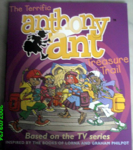 The Terrific Anthony Ant Treasure Trail - Puzzle Book