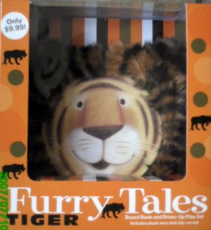 Tiger Furry Tales - Board Book And Dress Up Play Set For Kids