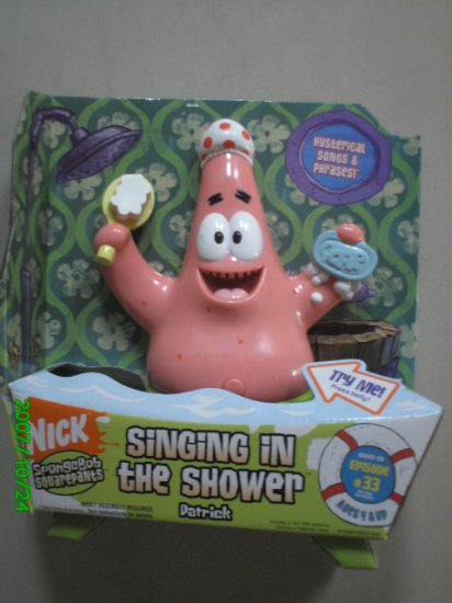 Patrick Singing in the Shower