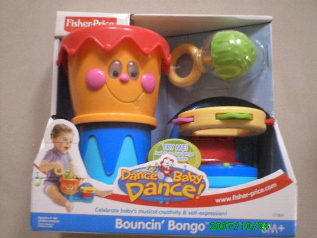 Fisher Price Dance Baby Dance Bouncin' Bongo