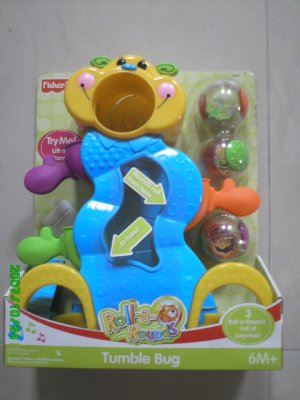 Fisher Price Tumble Bug Roll-A-Rounds