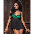 Sexy Lingerie Set Babydolls Nightdress + Briefs Nightdress