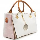 Luxury Fabulous Trend Women's Tote/Shoulder Handbag IVORY PINK