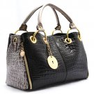 Luxury Fabulous Trend Women's Tote/Shoulder Handbag LIGHT GRAY