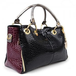 Luxury Fabulous Trend Women's Tote/Shoulder Handbag WINE