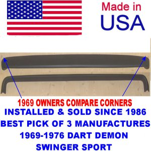 69-76 DODGE DART DEMON SWINGER DODGE PLYMOUTH DUSTER SCAMP VALIANT