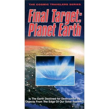 Cosmic Travelers-Final Target-Planet Earth (VHS) NEW