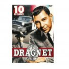 Dragnet - 10 Episodes - Jack Webb, Barney Phillips, Herb Ellis, Ben Alexander