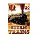Steam Trains - Eighteen Program Set (DVD, 2004, 5-Disc Set)