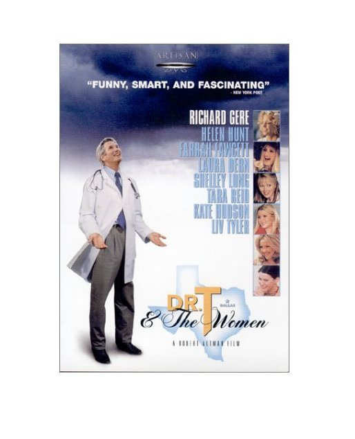 Dr. T and the Women (VHS) New