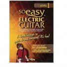 So Easy Level 1: Electric Guitar (Region 1 DVD)