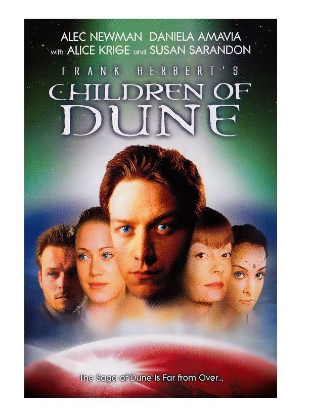 Frank Herbert's Children of Dune (VHS Tape)