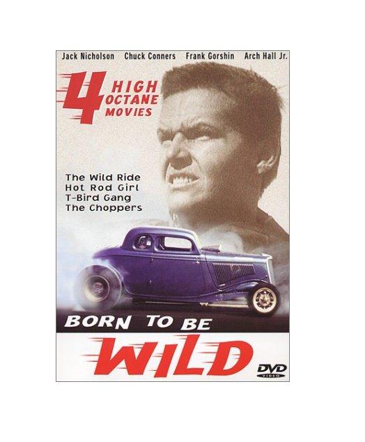 Born To Be Wild: 4 Movie Set Jack Nicholson