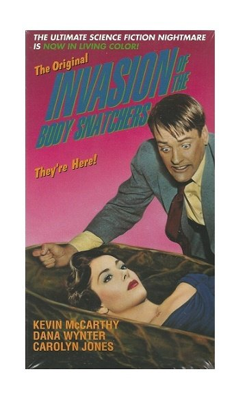Invasion of the Body Snatchers VHS 1995 Colorized Version Dana Wynter