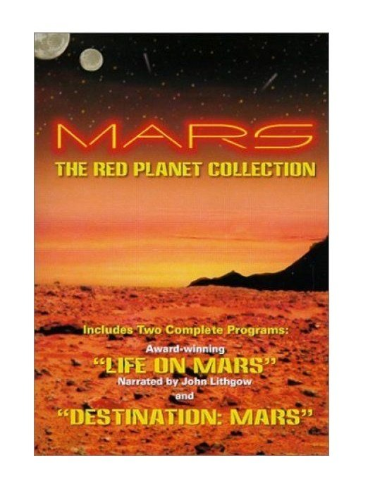 Mars: The Red Planet Collection DVD