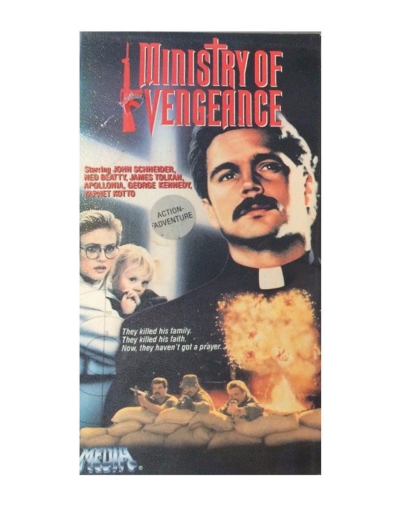 Ministry of Vengeance VHS John Schneider, Ned Beatty