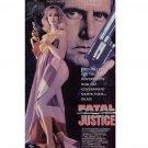 Fatal Justice VHS Joe Estevez, Suzanne Ager