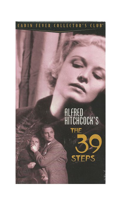 The 39 Steps VHS Robert Donat, Madeleine Carroll