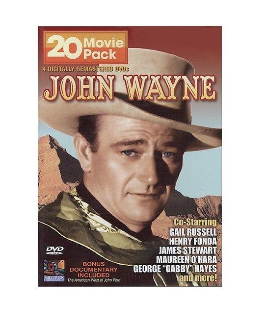 20 Movie Pack John Wayne DVD Gail Russell - Henry Fonda - James Stewar