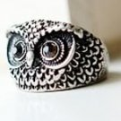 Small Owl Ring
