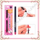 Koji Spring Heart Long Lasting Automatic Eyeliner with Built-In Sharpener, Black