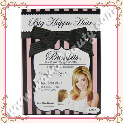 Bumpits Hair Volumizing Inserts, 5-Piece Special Edition Set, Medium Blonde