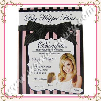 Bumpits Hair Volumizing Inserts, 5-Piece Special Edition Set, Light Blonde