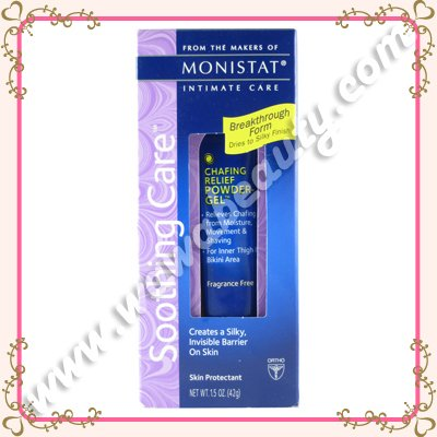 Monistat Soothing Care Chafing Relief Powder Gel, 1.5oz / 42g
