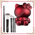 Sanrio Hello Kitty Noir 5-Piece Brush Set, Ruby Red, Limited Edition