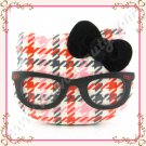 Sanrio Hello Kitty Head Of The Class Make Up Palette with Mirror, Red and Pink, Limited Edition