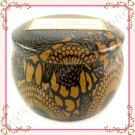 Voluspa Baltic Amber Petite Decorative Tin Candle, 4oz / 113g