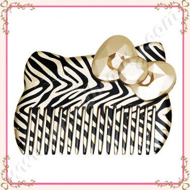 Sanrio Hello Kitty Wild Thing Wide Tooth Hair Comb, Limited Edition