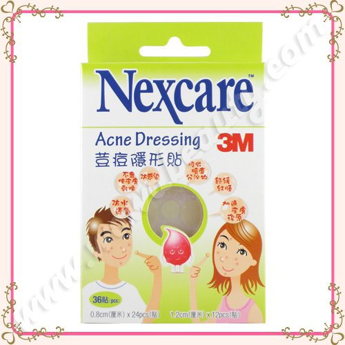3M Nexcare Acne Dressing Patch Pimple Stickers, 36 Pieces