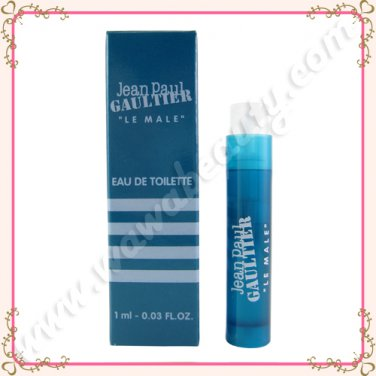 Jean Paul Gaultier Le Male Eau de Toilette EDT Spray, 0.03oz / 1ml