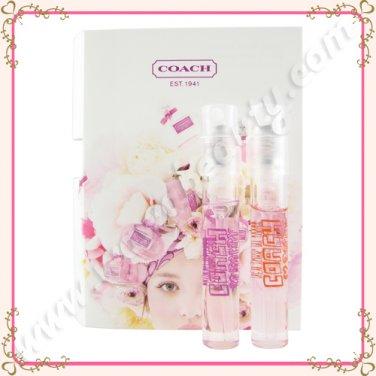 Coach Poppy and Poppy Flower Eau de Parfum EDP Sprays, 0.05oz / 1.5ml