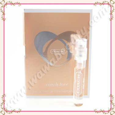 Coach Love Eau de Parfum EDP Spray, 0.05oz / 1.5ml