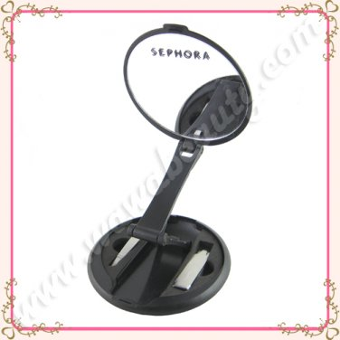 Sephora Collection Compact Standing Travel Set, Folding Mirror Tweezers & Nail Clippers