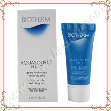 Biotherm Aquasource Nuit High Density Hydrating Jelly, 5ml / 0.16oz