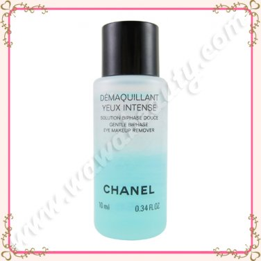 Chanel Demaquillant Yeux Intense Gentle Biphase Eye Makeup Remover, 10ml / 0.34oz