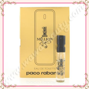 Paco Rabanne 1 Million Eau de Toilette EDT Spray, 0.05oz / 1.5ml