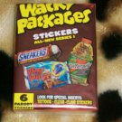 WACKY PACKAGES ANS1 COMPLETE 55/55 STICKER SET + WRAPPER!!