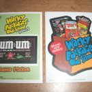 WACKY PACKAGES OLD SCHOOL2 *BOTH*INSERT & PROMO STICKER